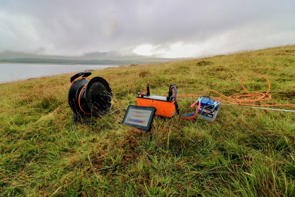 Geophysics in Scotland